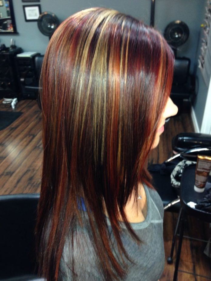 Trendy Ideas For Hair Color Highlights Multi Colors Brazilian