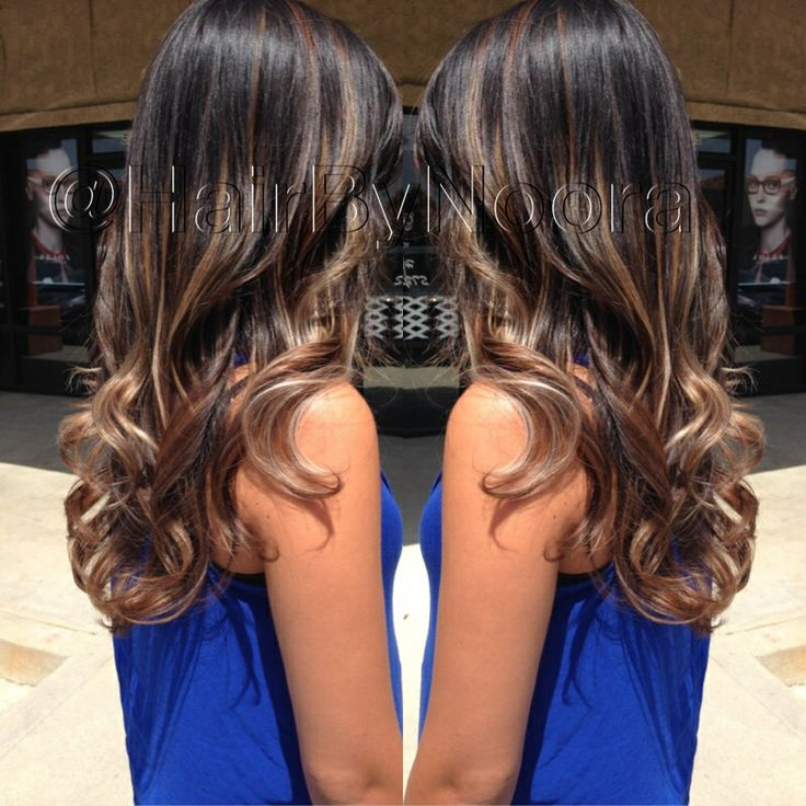 Trendy Ideas For Hair Color Highlights Ombr Balayage Brunette