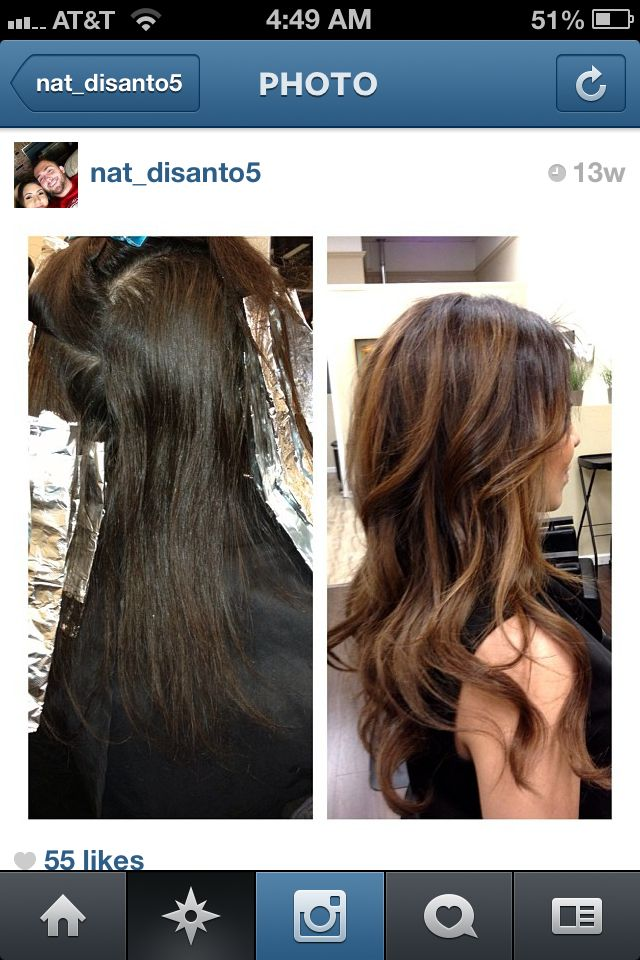 Ombre highlights DONE RIGHT!