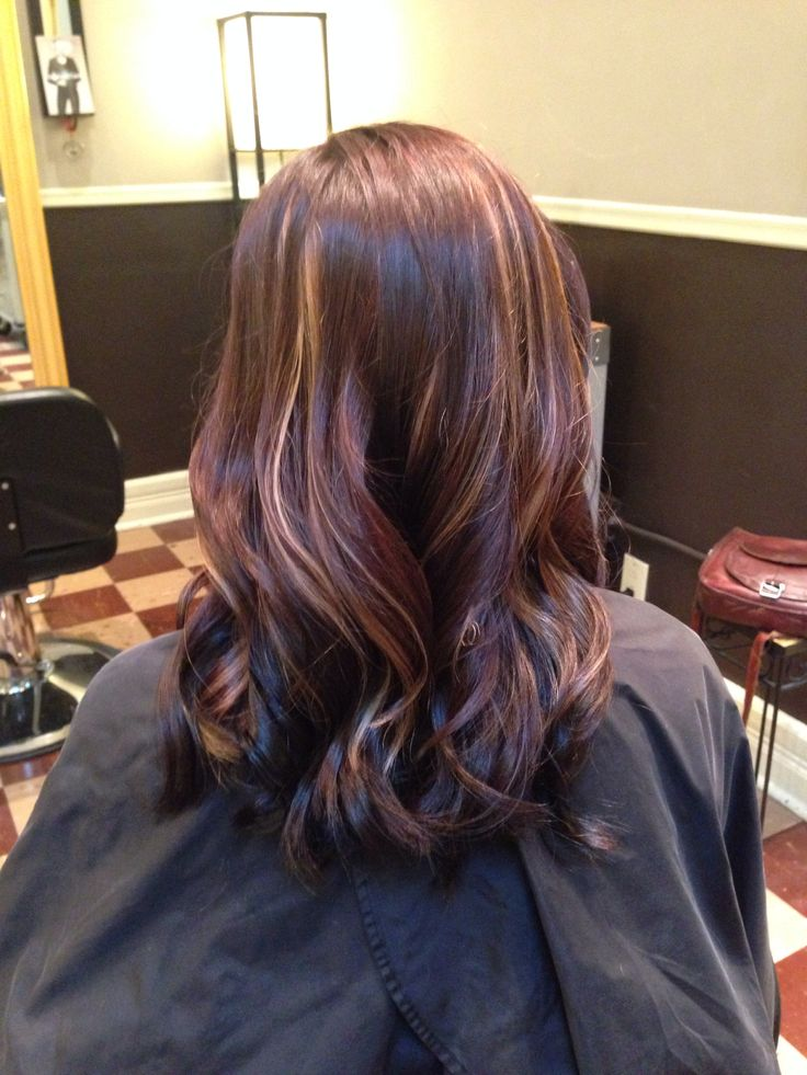 Trendy Ideas For Hair Color Highlights Rich Chocolate