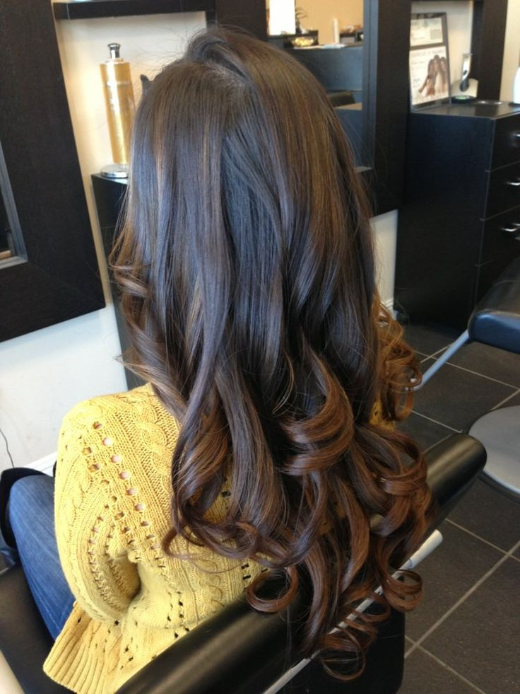 Highlights For Black Hair Can Blend In Your Natural Color Amazingly Her Is And Looks Beautiful If You Look Closely