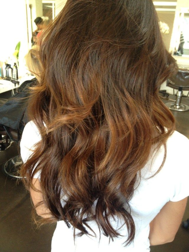 balayage brunette highlights 2013.. This us so pretty. @Brittany Horton Horton H...