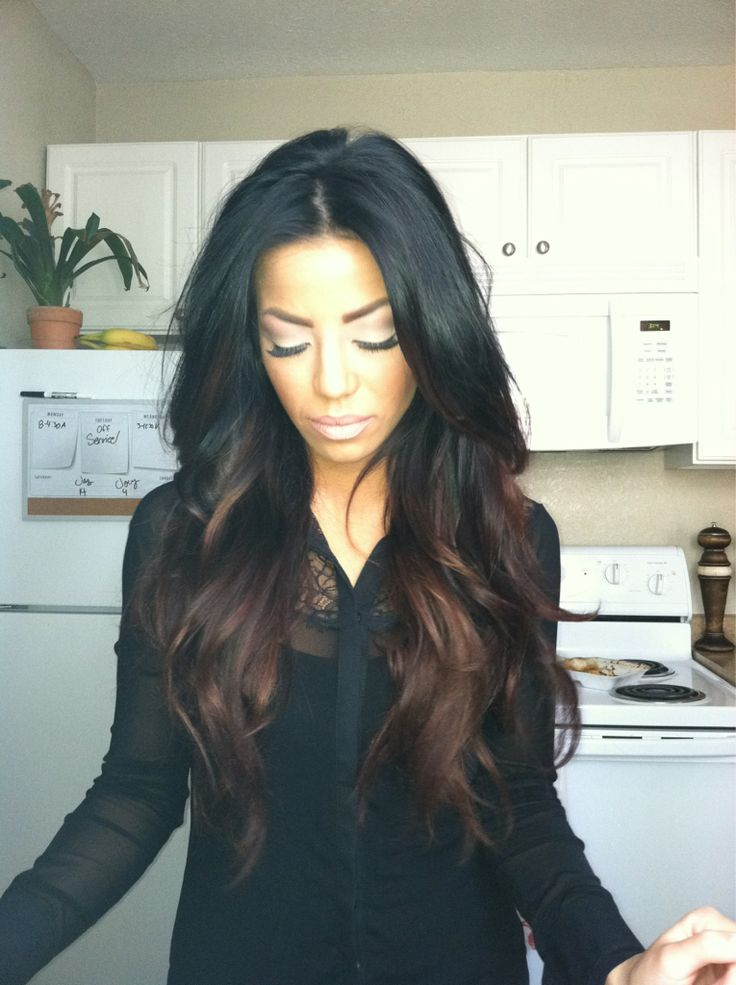 Trendy Ideas For Hair Color Highlights Dark Ombre Love This
