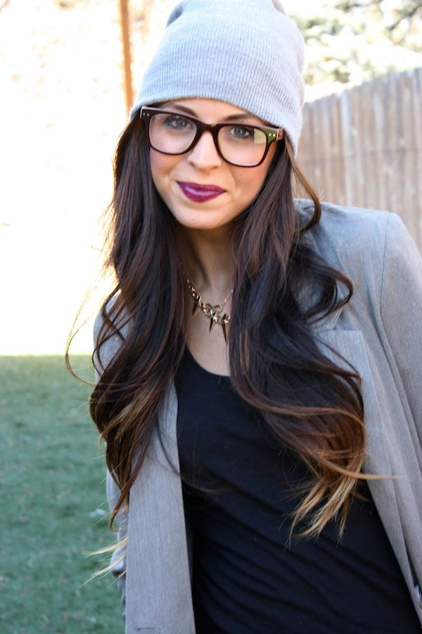 Trendy Ideas For Hair Color Highlights Subtle Ombre With Grey
