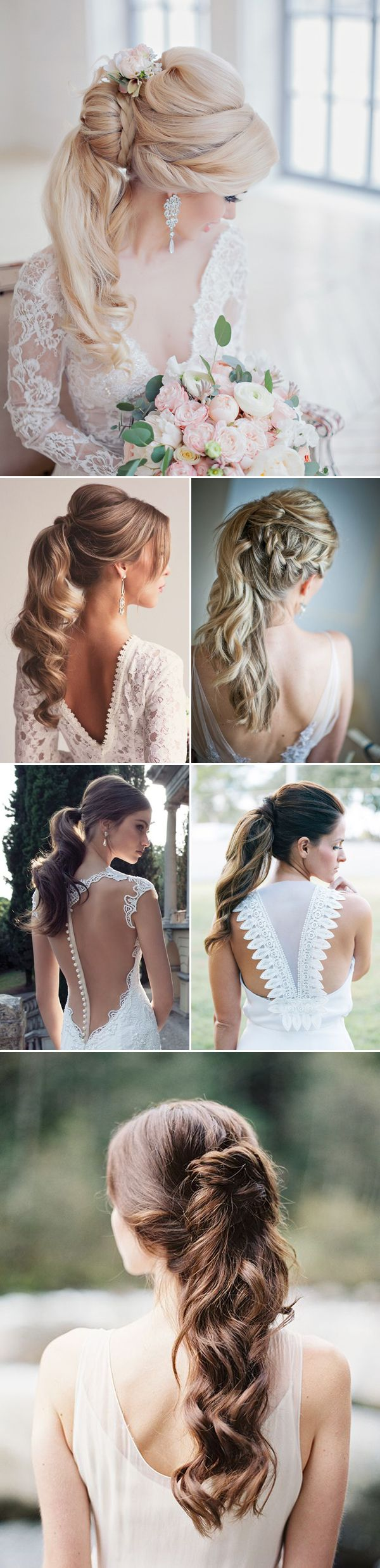 30 Seriously Hairstyles for Weddings (with Tutorial) | www.deerpearlflow...