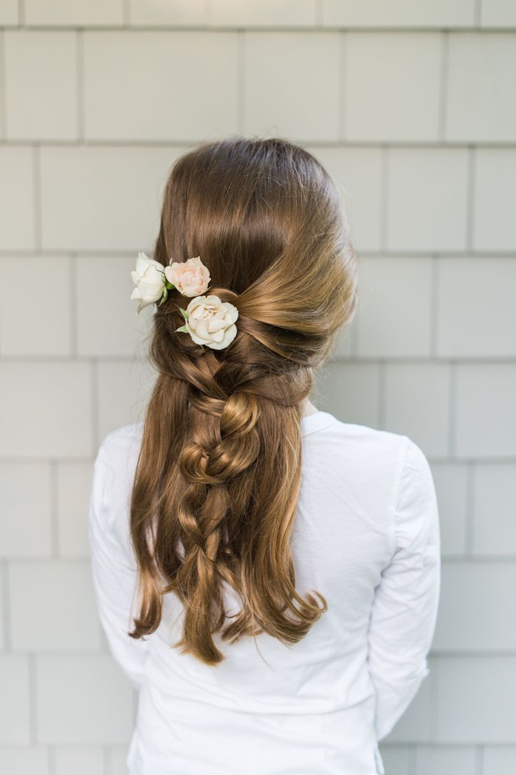 Adorable flower girl braid how-to: Photography : Leila Brewster Photography - ww...