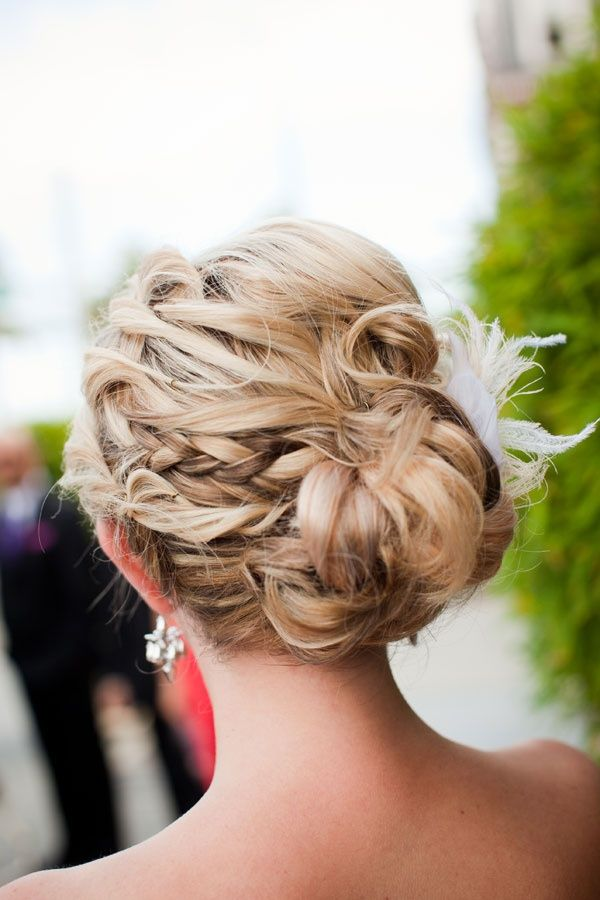 Pretty braided updo: www.stylemepretty... | Photography: Janae Shields - janaesh...