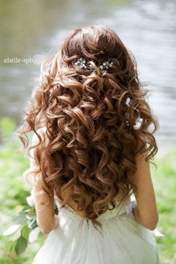 Wedding Hairstyles For Thin Hair Wedding Half Updos For