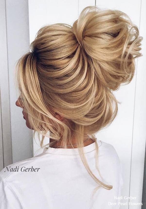 Bridal Hairstyles Nadi Gerber High Updo Wedding Hairstyles