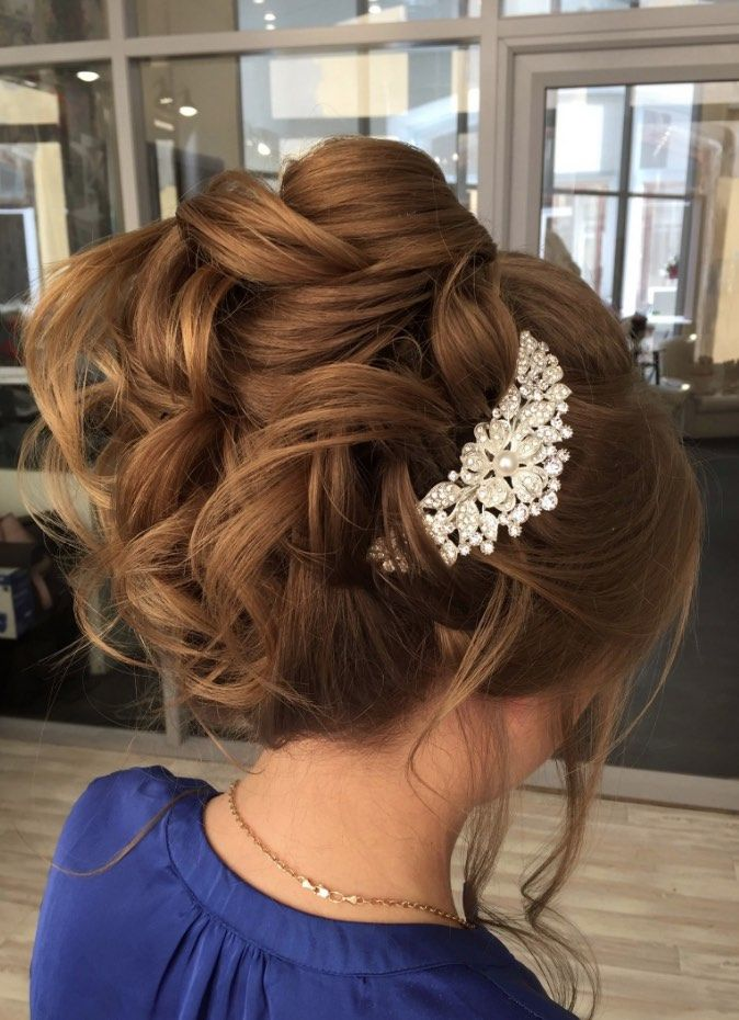 Wedding Hairstyles  and Updos #weddings #hairstyles #fashion #weddingideas