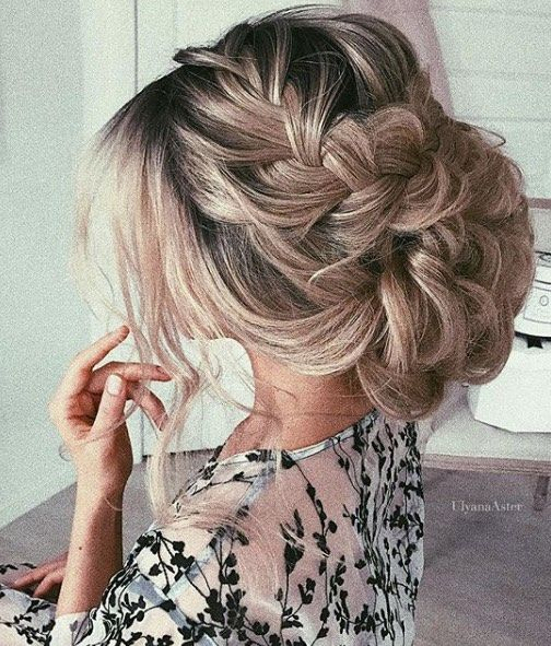 Wedding Hairstyles  and Updos #weddings #hairstyles #fashion #weddingideas