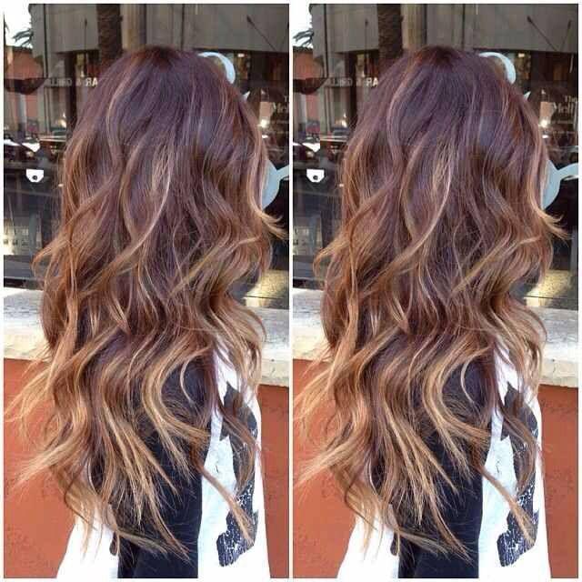 Trendy Ideas For Hair Color Highlights Caramel Highlights
