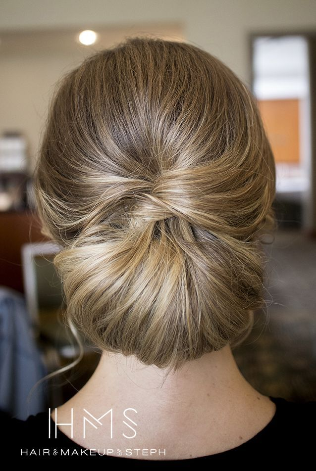 Wedding Hairstyle: Hair & Makeup by Steph