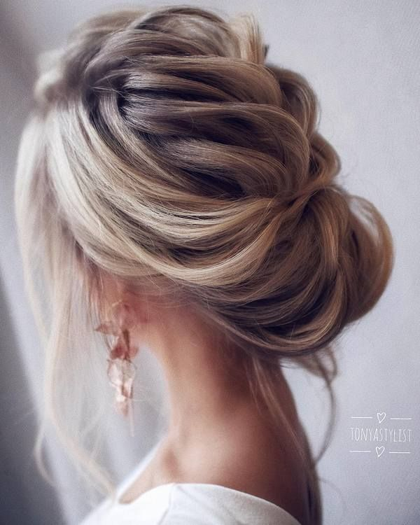 Tonyastylist long wedding hairstyles and updos #weddings #hairstyles #weddinghai...