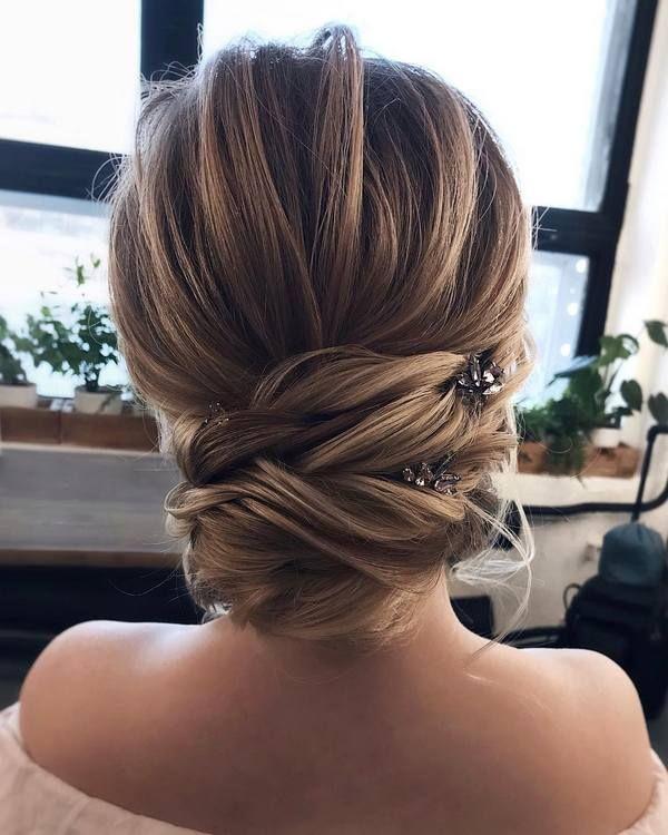 Tonyastylist long wedding hairstyles and updos #weddings #hairstyles #weddinghai...