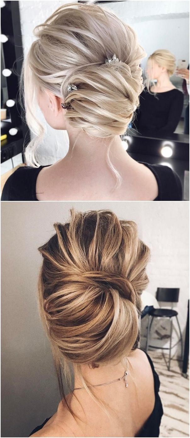 Tonyastylist Wedding Updo Hairstyles for Bride #weddings #updos #wedidngideas #w...