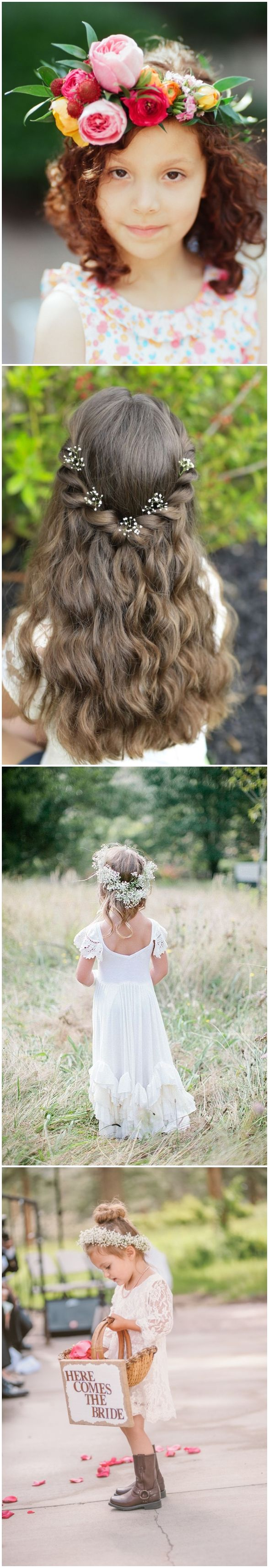 cute little girl hairstyles-updos, braids, waterfall / www.deerpearlflow...