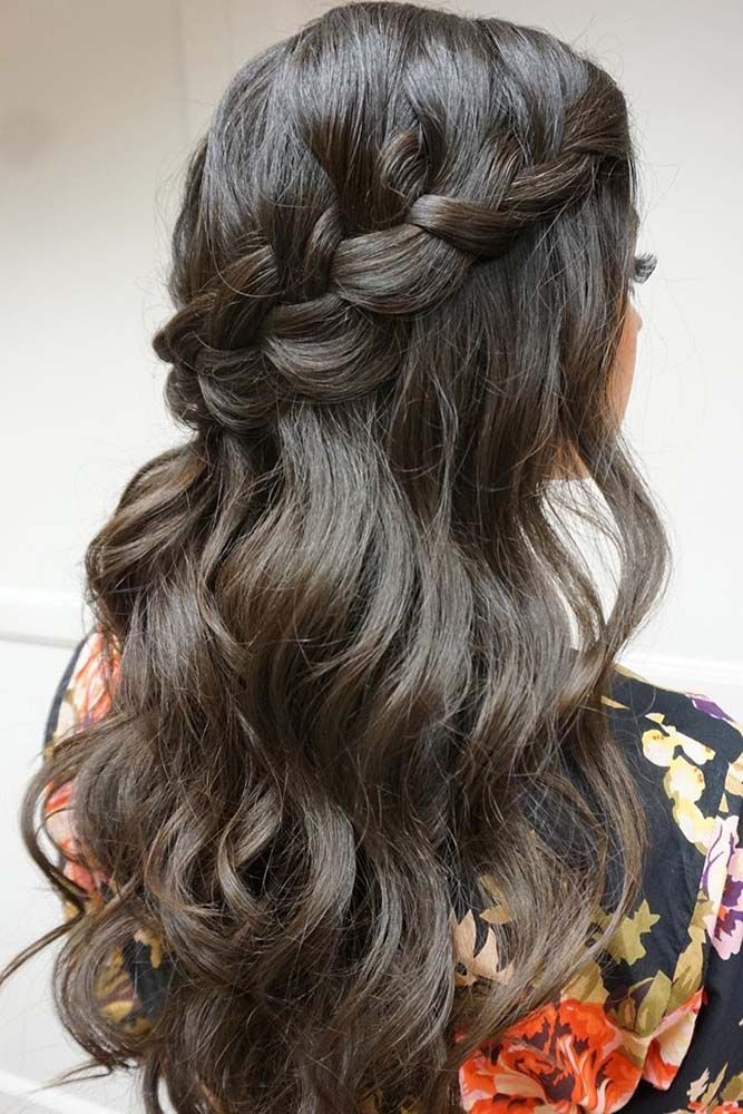 36 Stunning Half Up Half Down Wedding Hairstyles ❤ See more: www.weddingforwar...