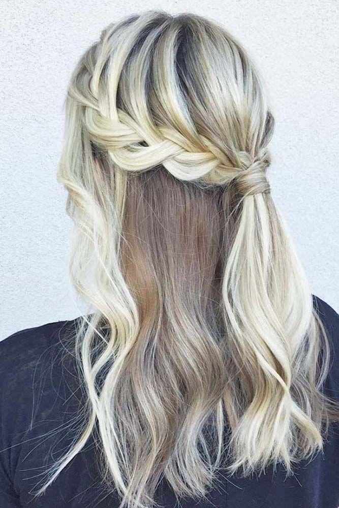 36 Stunning Half Up Half Down Wedding Hairstyles ❤ See more: www.weddingforwar...