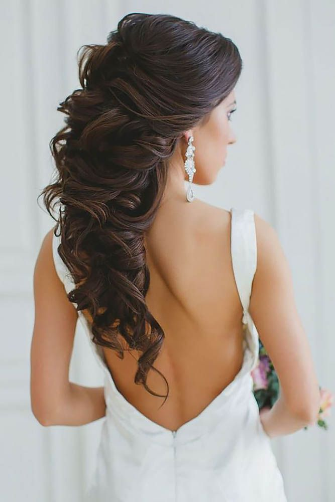 30 Stunning Half Up Half Down Wedding Hairstyles ❤ See more: www.weddingforwar...