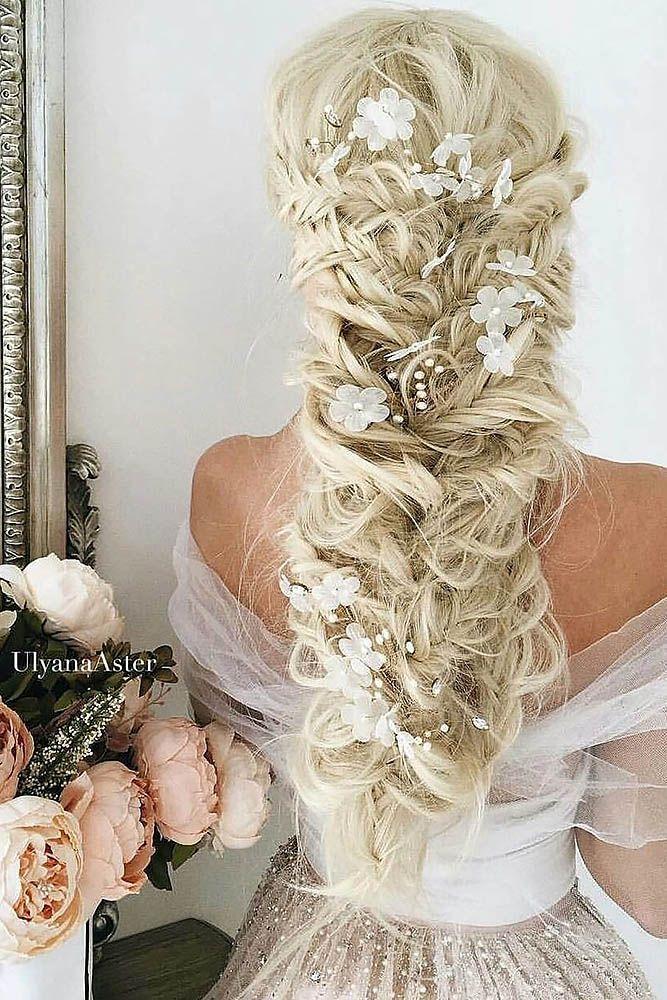 b8195d482a 36 Braided Wedding Hair Ideas You Will Love ❤ See more  www.weddingforwar.