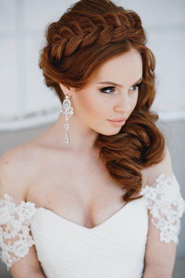 braided wedding crown hairstyle / www.deerpearlflow...