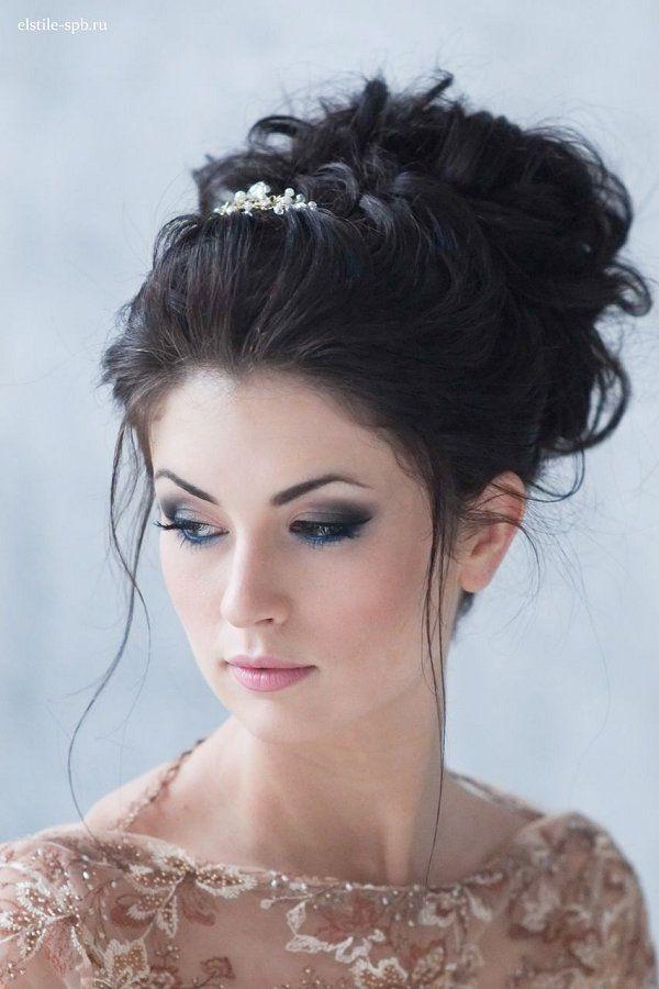 messy wedding updo hairstyle / www.deerpearlflow...