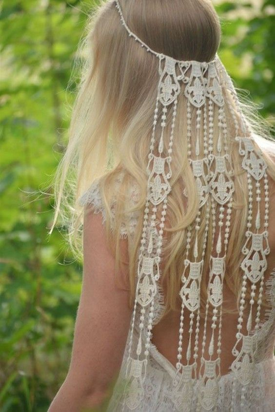 natural and bohemian inspired wedding dresses / www.deerpearlflow...
