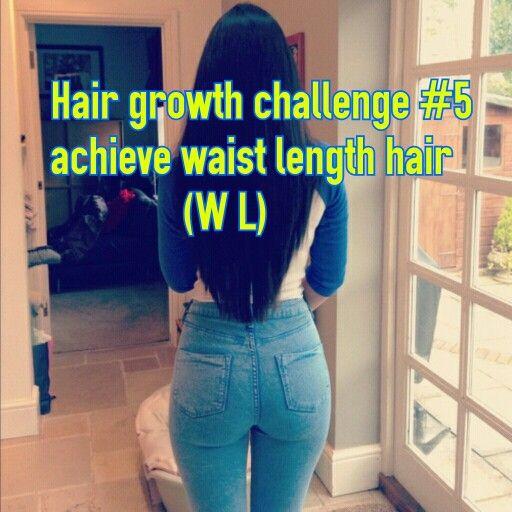 Hair growth challenge#5 waist length hair