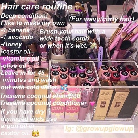 Living by this hair care routine at the moment!