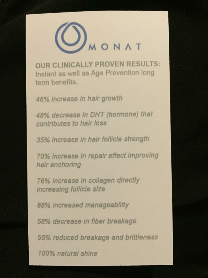 Monat offers 100% natural and botanically based hair care products that really W...