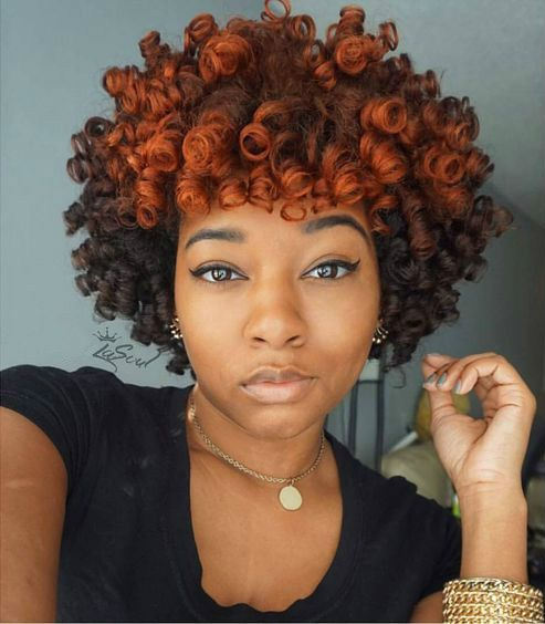 Hair care Ideas : Short curly hairstyles for black women ...