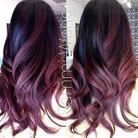 red hair color couleur ombre id e balayage beauty haircut home of hairstyle ideas. Black Bedroom Furniture Sets. Home Design Ideas