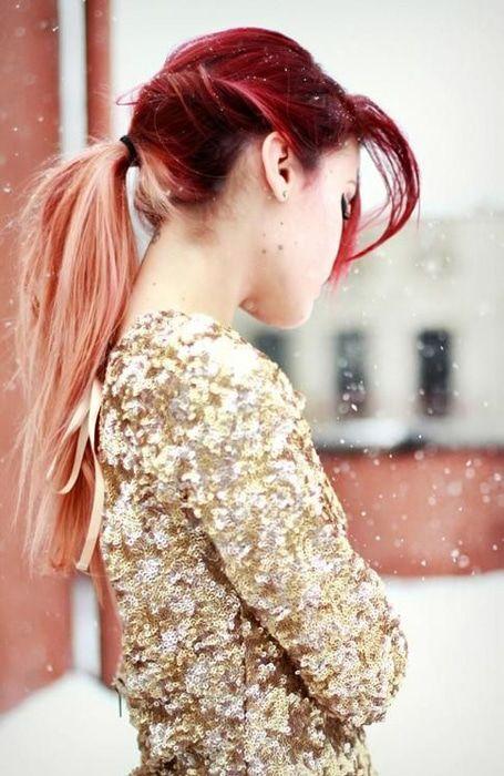 Red Hair Color Herrliche Rote Ombre Hair Ideas Für Frauen