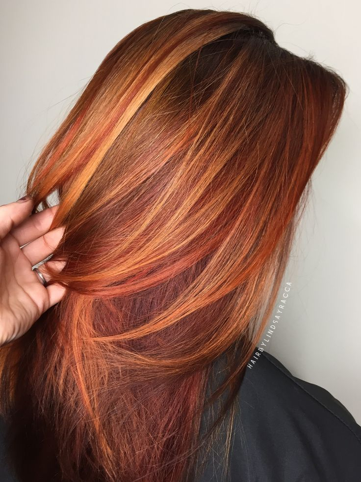Trendy Hair Color Highlights Fall Hair Red Hair Copper