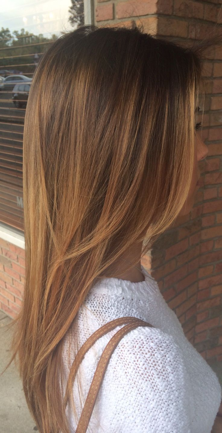 Trendy Hair Color Highlights Sunkissed Brown Hair