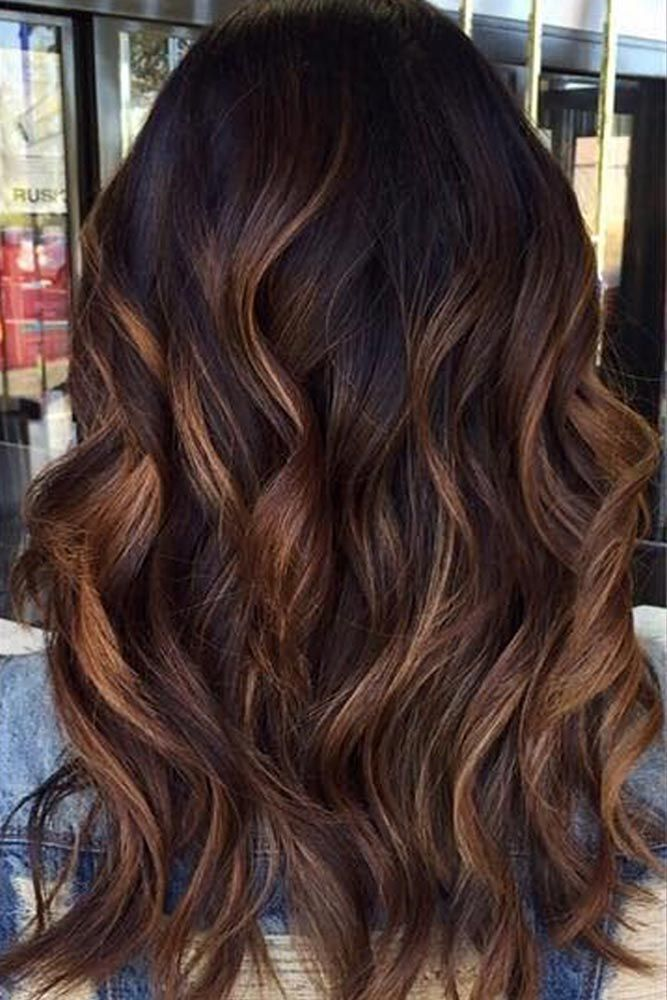 Balayage Hair Color Ideas in Brown to Caramel Tones ★ See more: lovehairstyles...