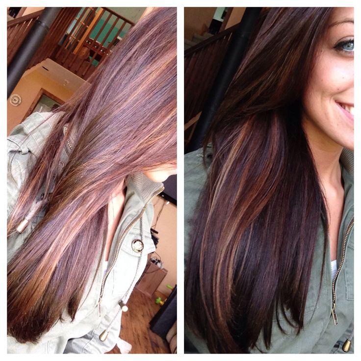 Trendy Ideas For Hair Color Highlights Carmel Peek A Boo