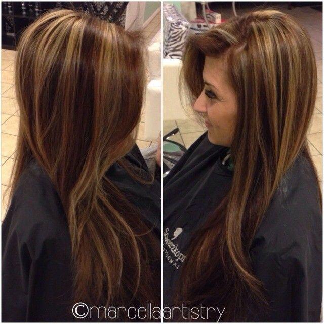 Trendy Ideas For Hair Color Highlights Hair Color Chocolate