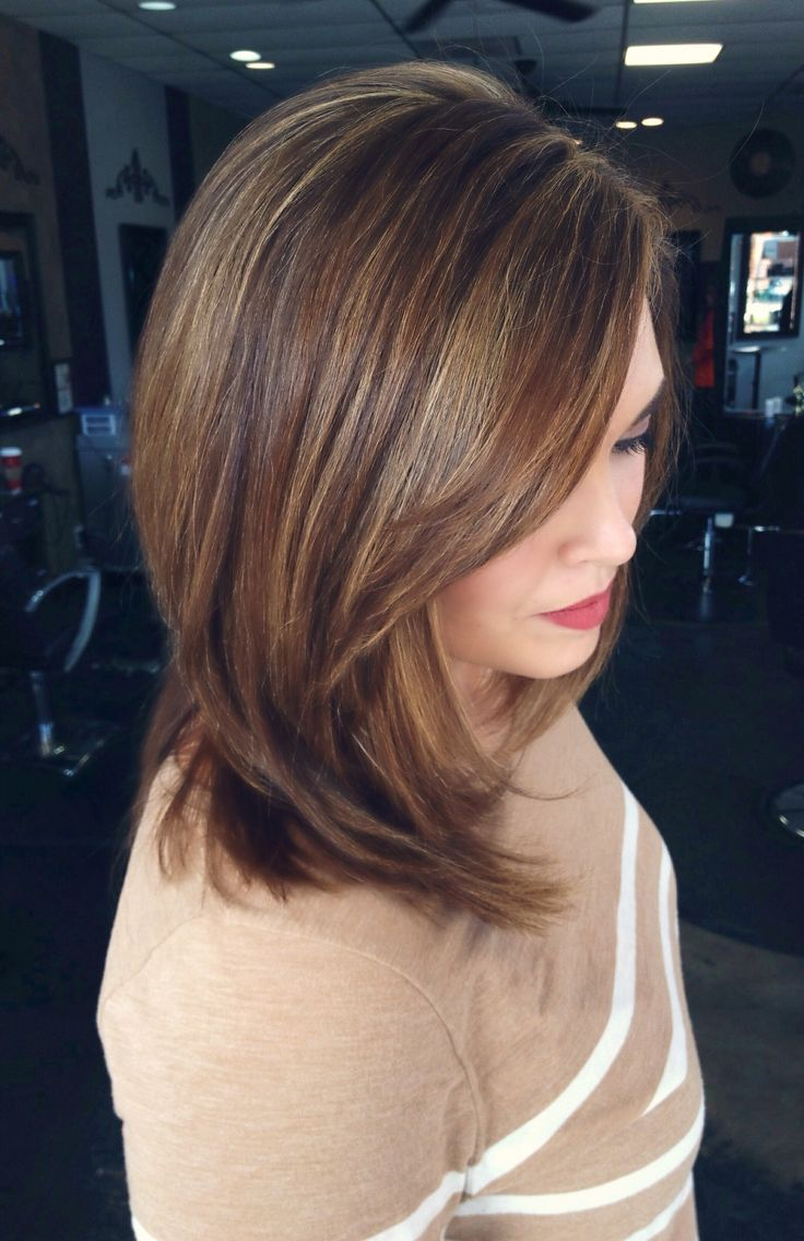 Trendy Ideas For Hair Color Highlights Caramel Highlights Low
