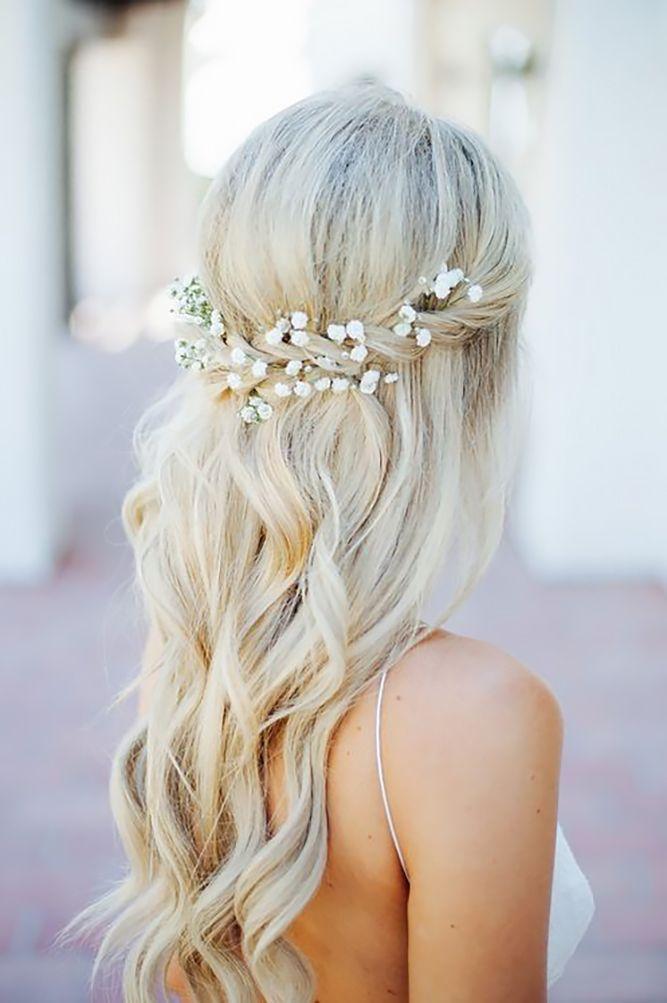 Bridal Hairstyles : 42 Half Up Half Down Wedding Hairstyles Ideas We ...