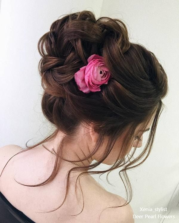 Wedding updo hairstyles from xenia_stylist  #weddings #weddingideas #weddinghair...