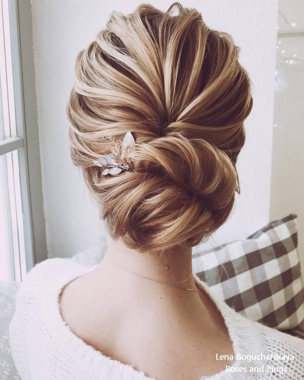 Lena Bogucharskaya Wedding Hairstyles and Updos    #wedding #weddings #weddingha...
