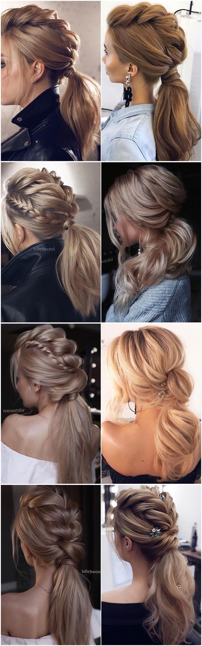 60+ Best Wedding Hairstyles from Tonyastylist for the Modern Bride  - #weddings ...