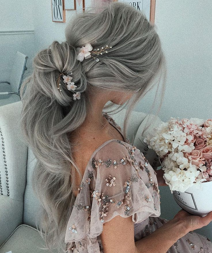 62 Wedding Hairstyles from Ulyana Aster to Get You Inspired- #weddings #weddingh...