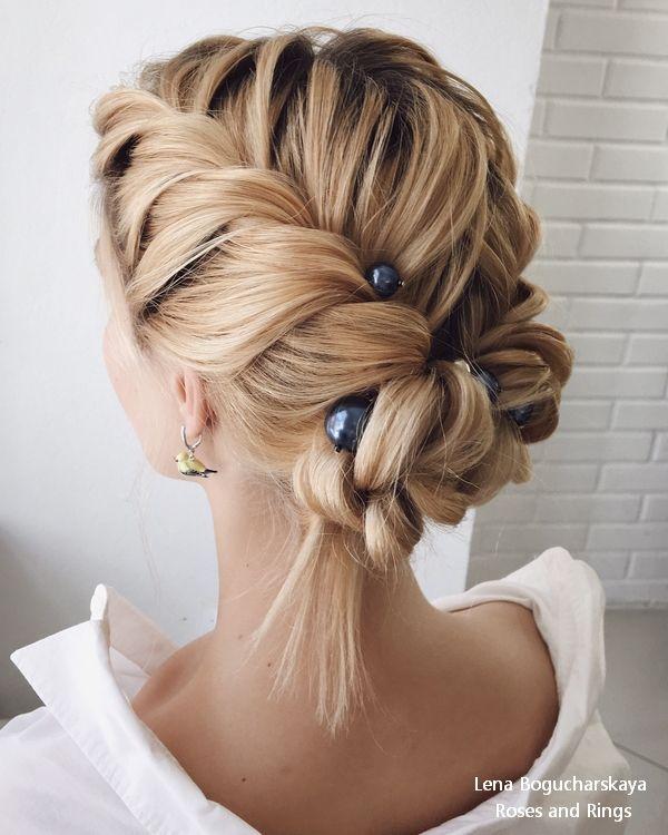 Lena Bogucharskaya Wedding Hairstyles and Updos  #weddings #hairstyles #rosesand...