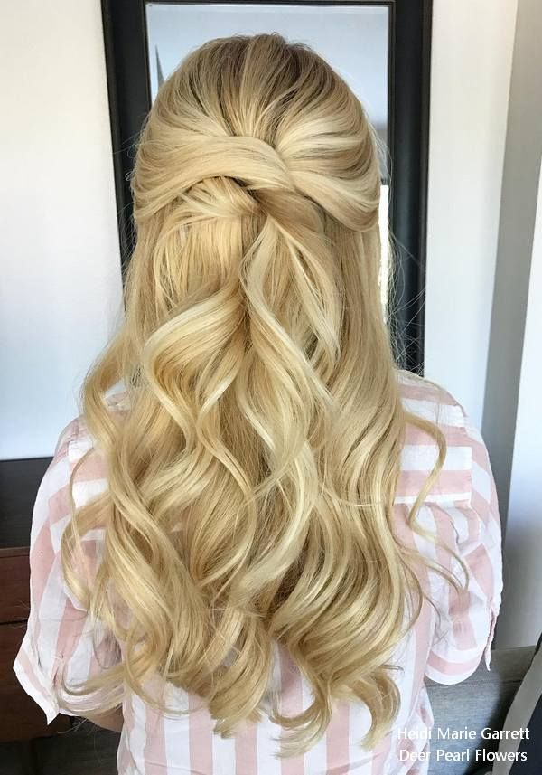 Bridal Hairstyles Half Up Half Down Wedding Hairstyles From Heidi