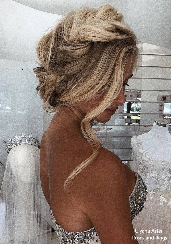 Ulyana Aster Long Wedding Hairstyles and Updos #weddings #hairstyles #weddingide...