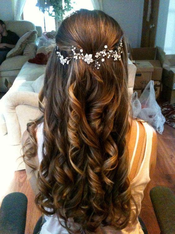 1537797809 Wedding Hairstyles Half Up Half Down Wedding