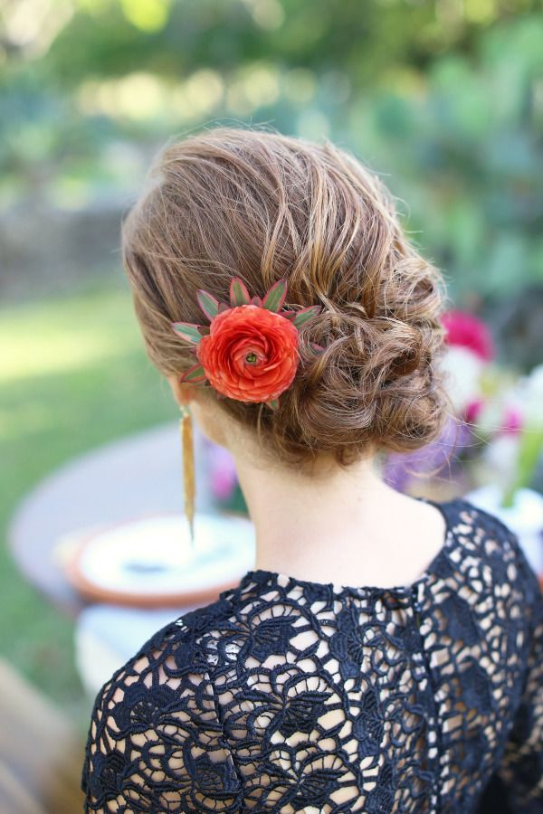 20 Beautiful Bridesmaid Hair Styles | www.deerpearlflow...